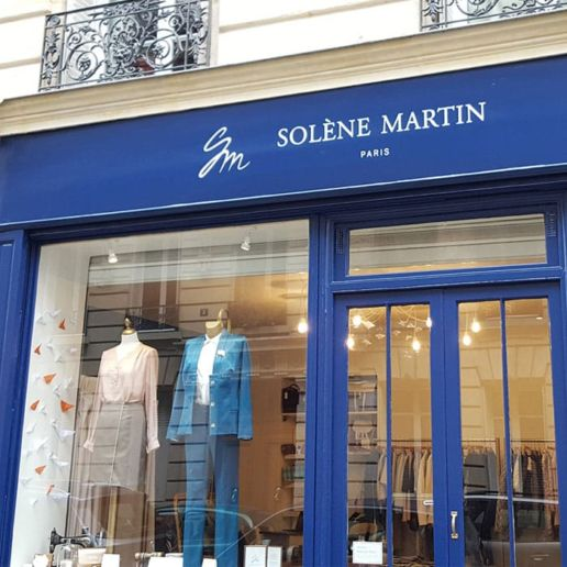 Boutique paris vetement SOLENE MARTIN