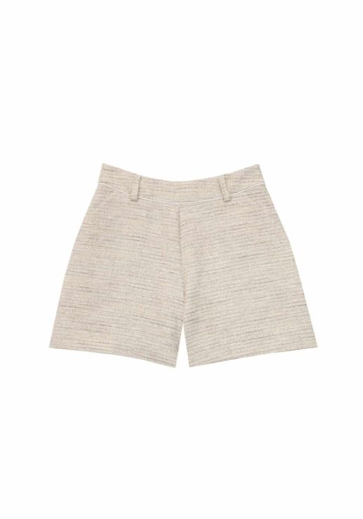 short coton beige SOLENE MARTIN