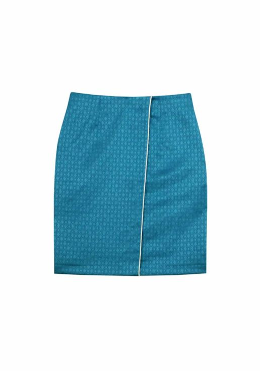 jupe bleue SOLENE MARTIN