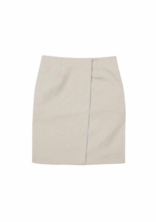 jupe coton beige SOLENE MARTIN