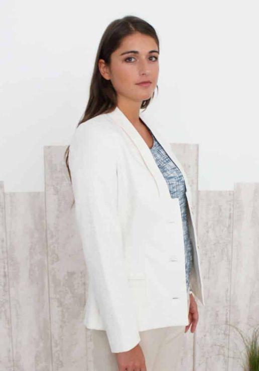Veste-Blanche femme SOLENE MARTIN