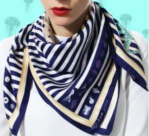 IRENE PARIS foulard en soie