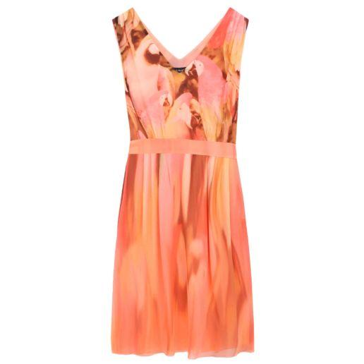 SOLENE MARTIN mode femme robe orange mariage