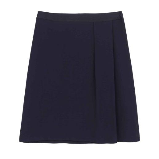 SOLENE MARTIN mode femme jupe bleu