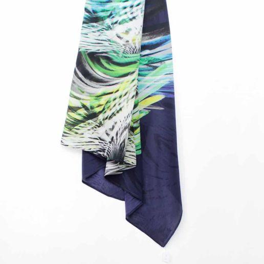 foulard soie accessoire SOLENE MARTIN