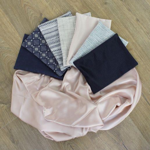 SOLENE MARTIN mode femme pochette tissu accessoire