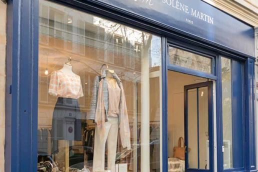 Boutique mode femme SOLENE MARTIN Paris