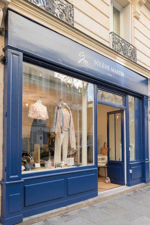 Boutique mode femme SOLENE MARTIN Paris