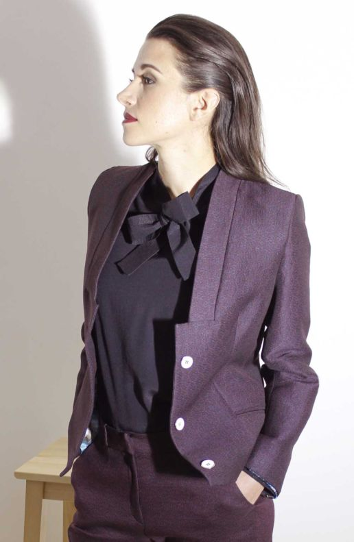 Collection hiver vetement mode femme style look Paris SOLENE MARTIN