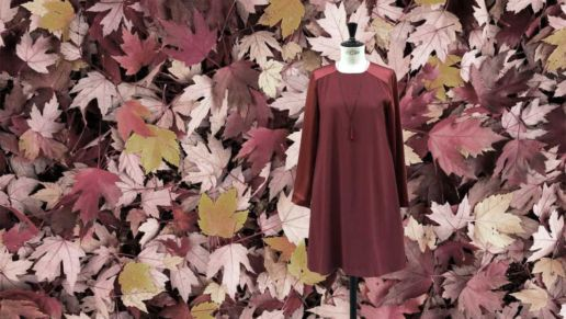 Robe d automne mode femme SOLENE MARTIN Paris