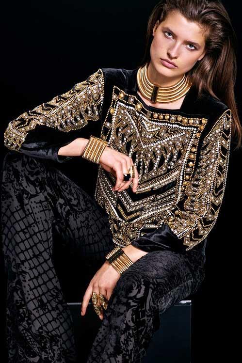 Balmain-et-h&m mode femme Paris