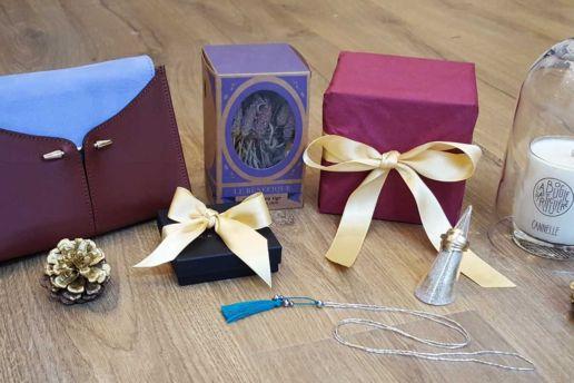 Cadeaux de noel créateur Paris bijoux sac bougie bague collier infusion
