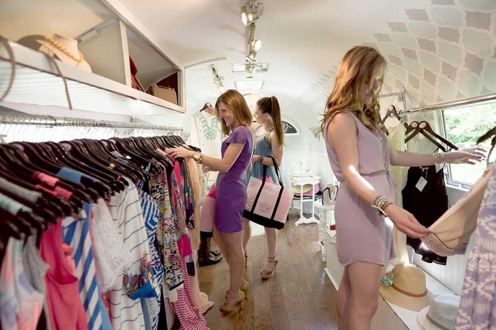 shopping mode femme
