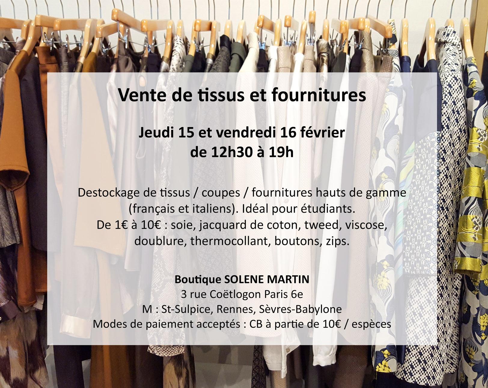 vetement femme mode createur paris vente tissus