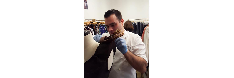 Salon du chocolat 2018 SOLENE MARTIN robe en chocolat